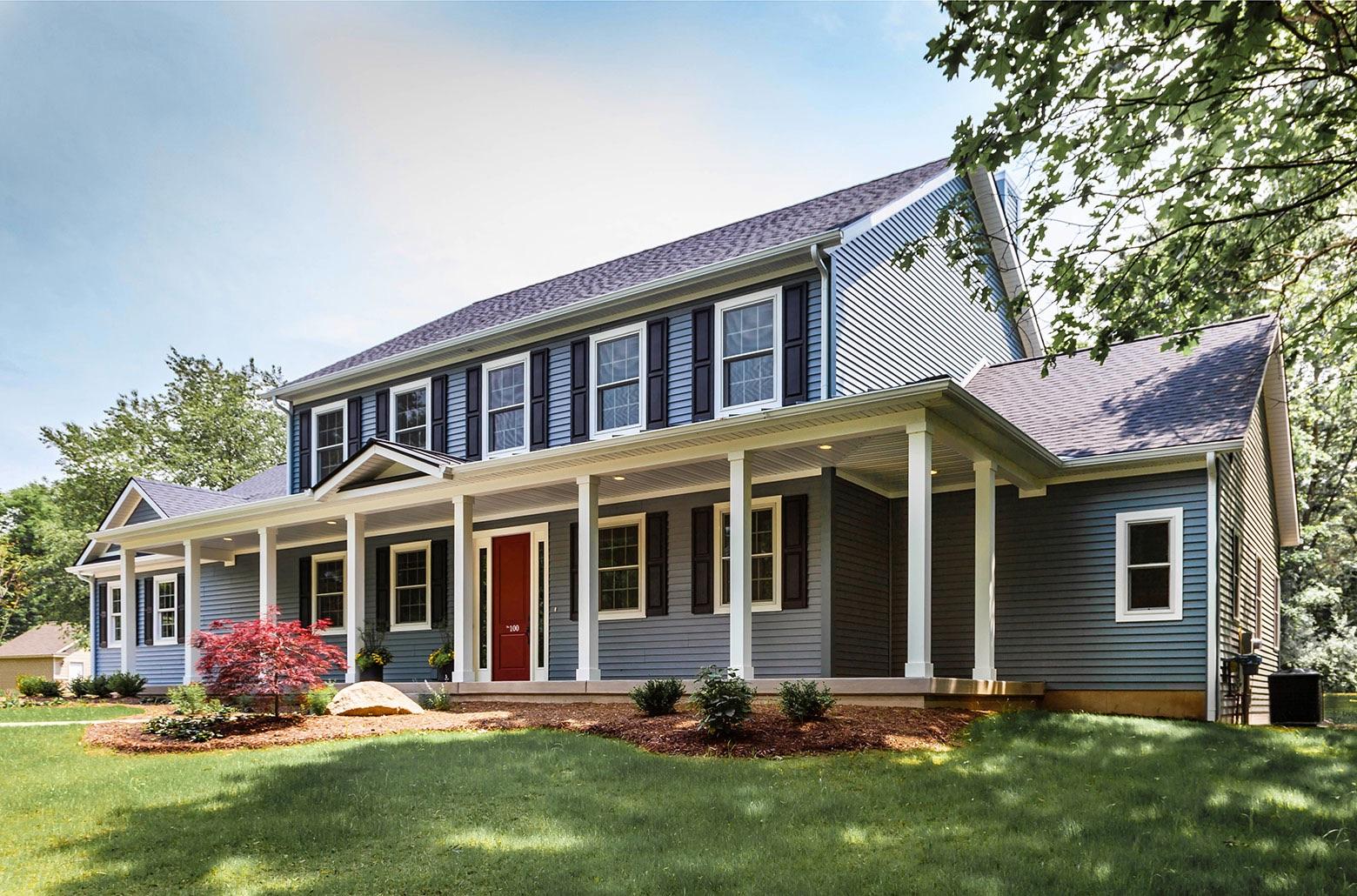 ADA accessible house exterior