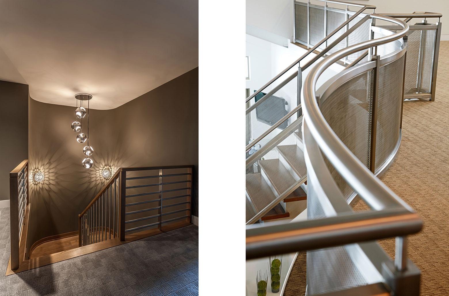 stairway railings