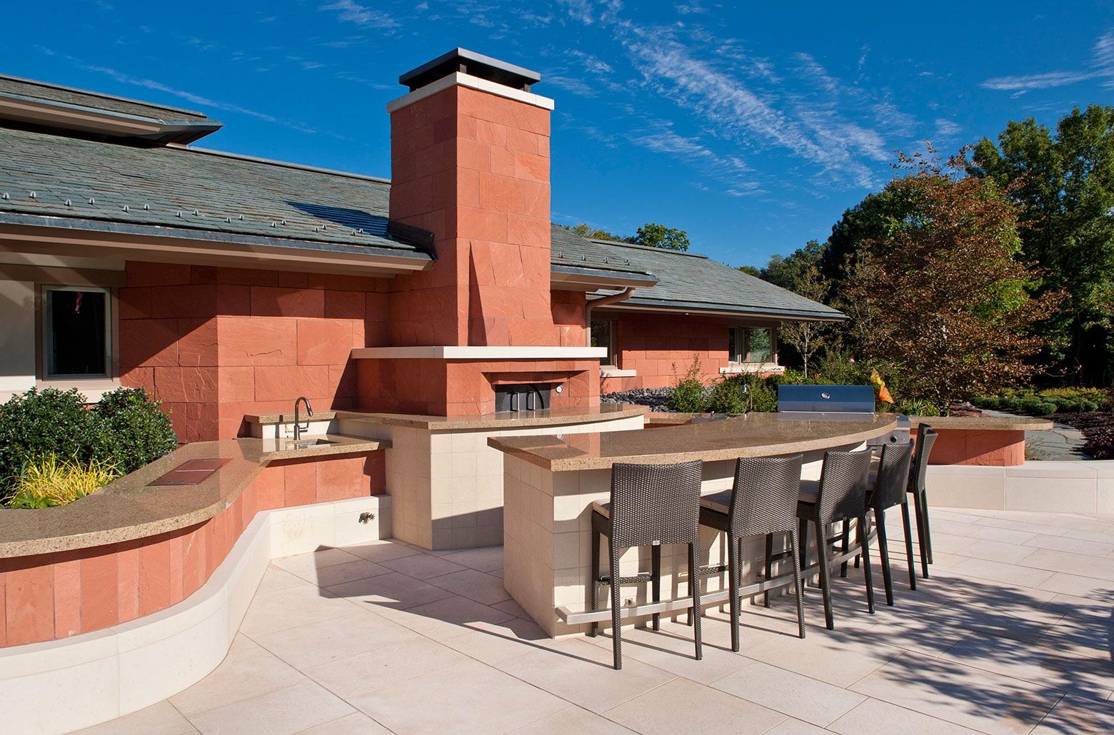 outdoor patio home exterior