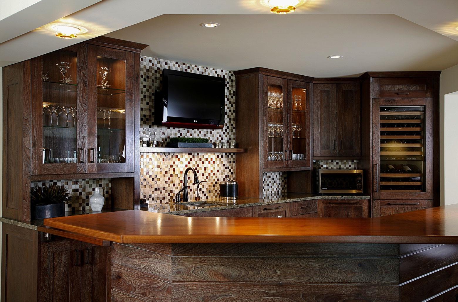 remodeled kitchen interior