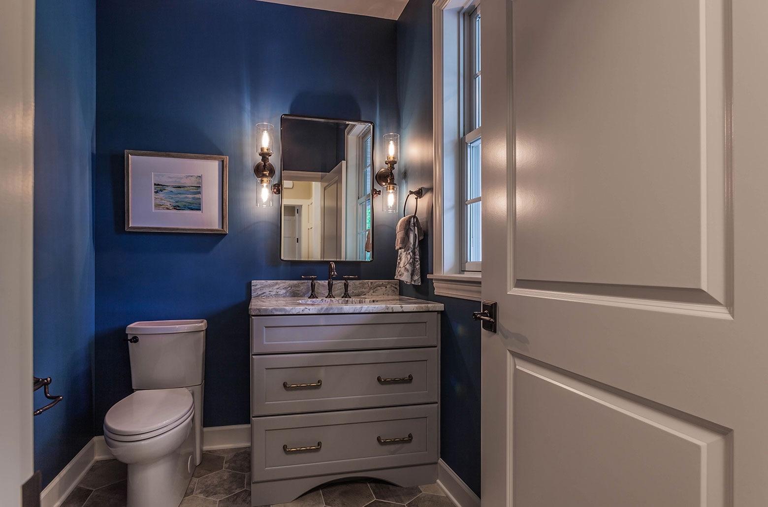 bathroom in ADA accessible home