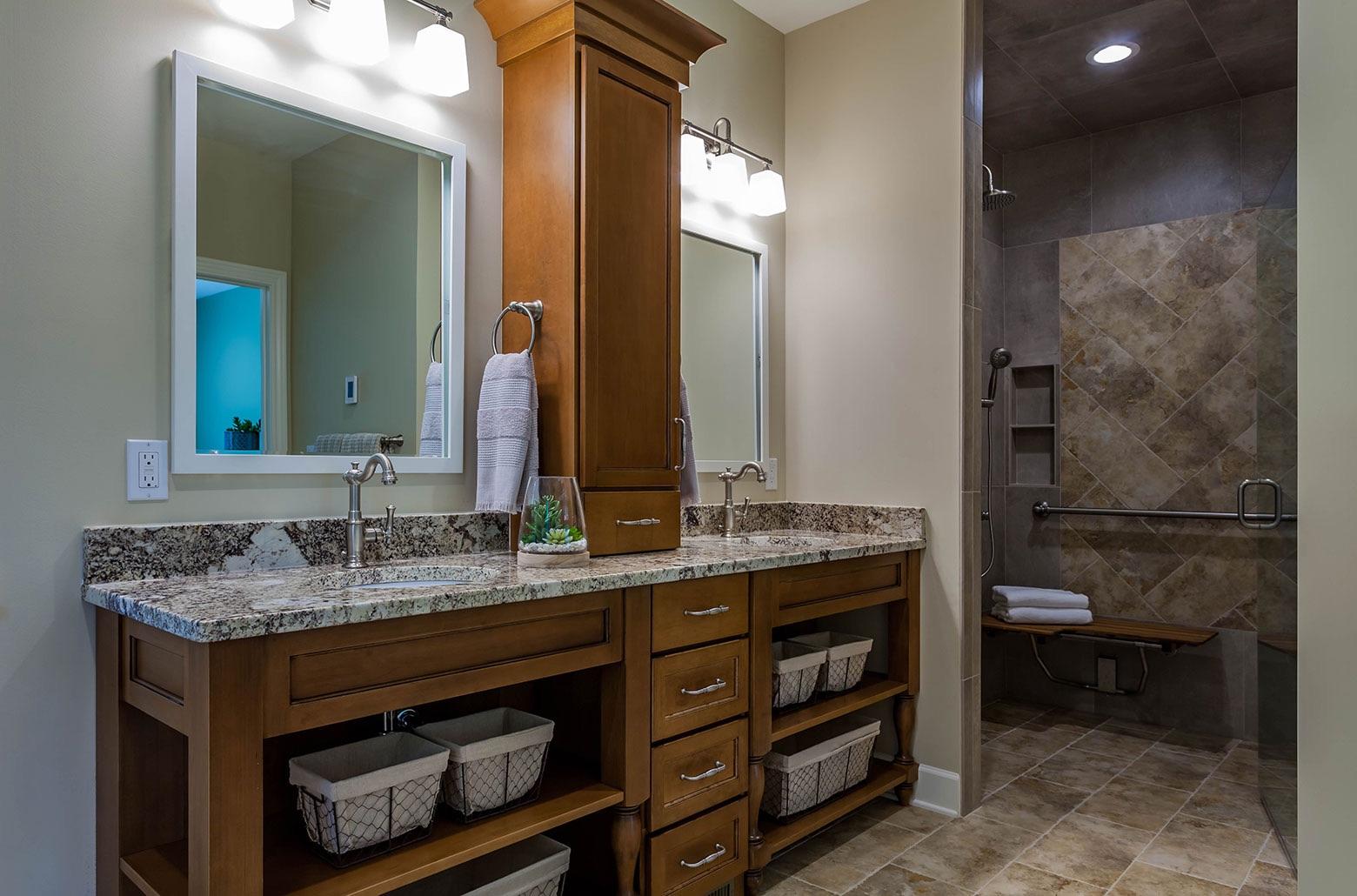 ADA accessible bathroom sinks
